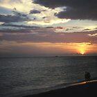Lido Beach Sunset by Bill Spengler