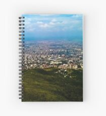In the vastness of the sky. Spiral Notebook