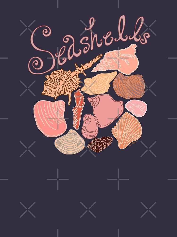 Seashells Pattern by whya
