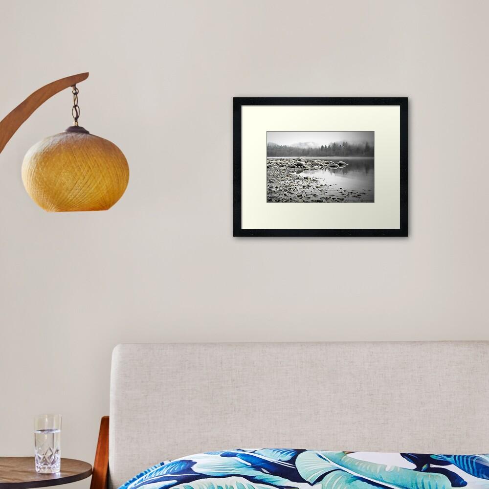 Fraser River Framed Art Print