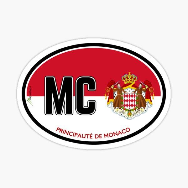 MONACO Principate de Monaco Sticker Sticker