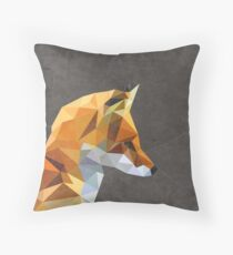 LP Fox Throw Pillow