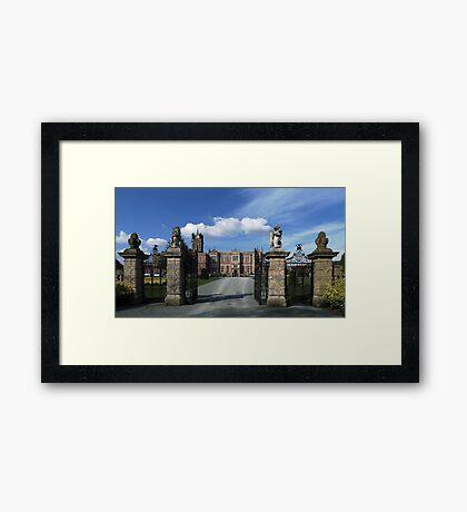 Crewe Hall, Cheshire Framed Print