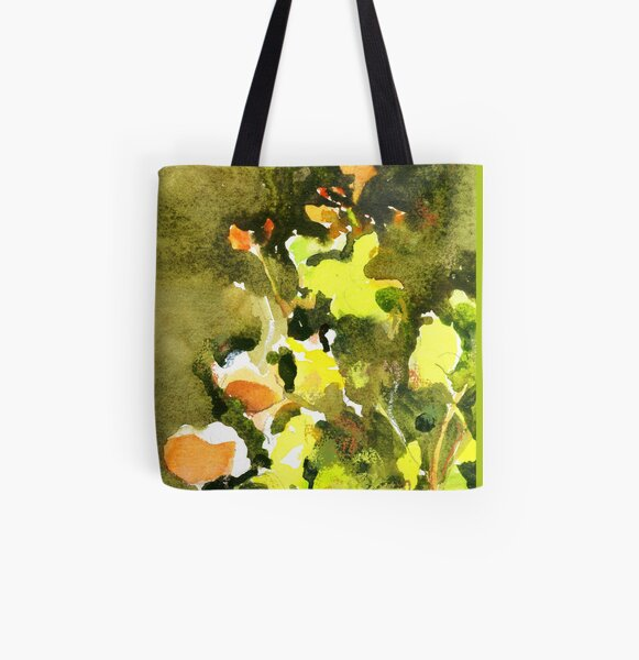 Flower Dance All Over Print Tote Bag