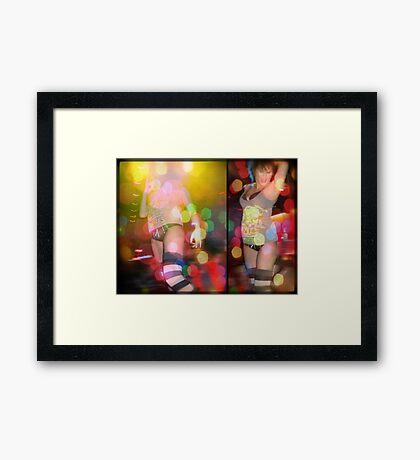 so alive... Framed Print