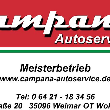 Campana car service by andreleichtfuss