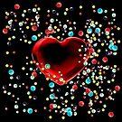 Bubble Gum Heart II by Diego-t