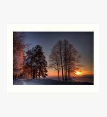 Winter Moods III Art Print