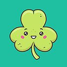 Kawaii Shamrock by zoljo