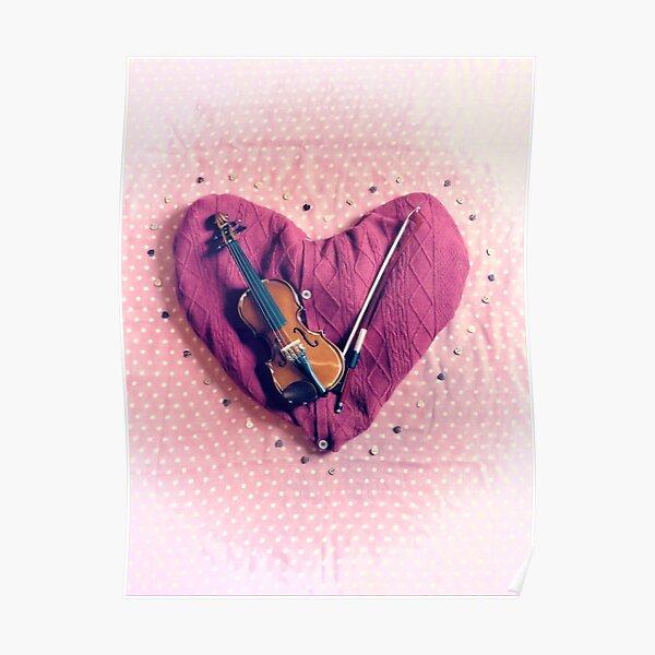 Love Violin Poster