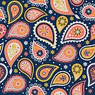 Limited color paisleys by camcreativedk