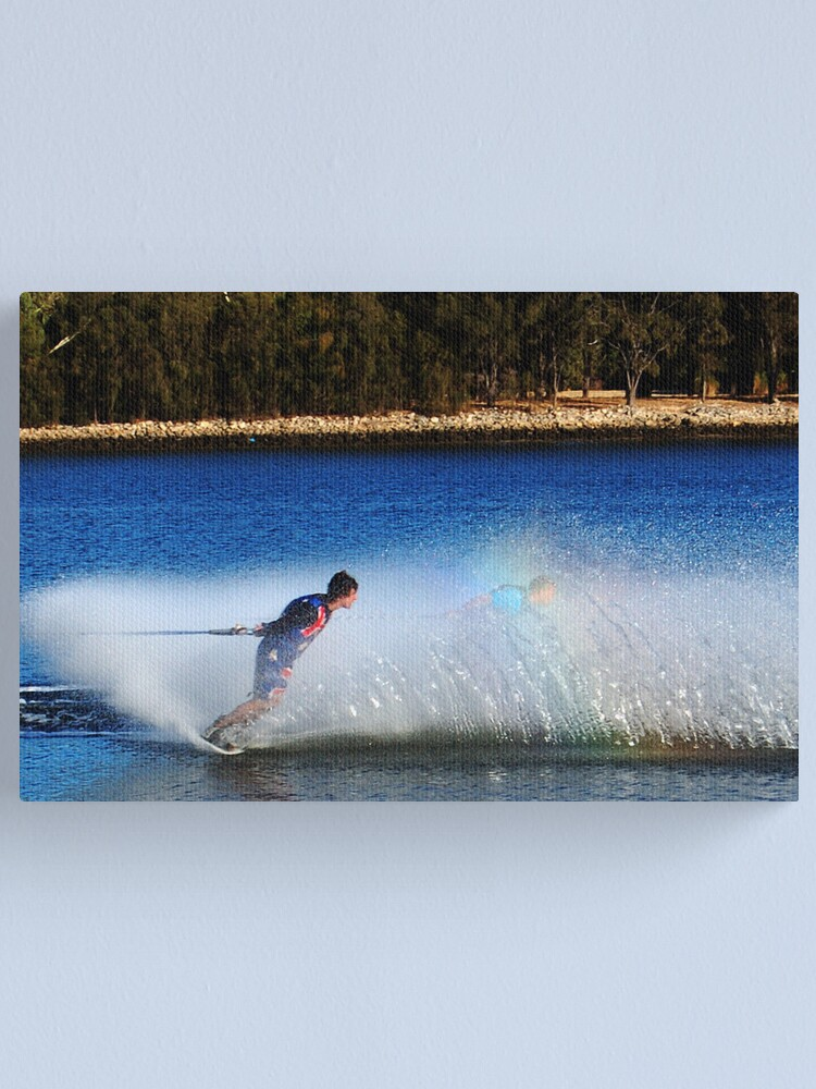Alternate view of Water Skier Canvas Print