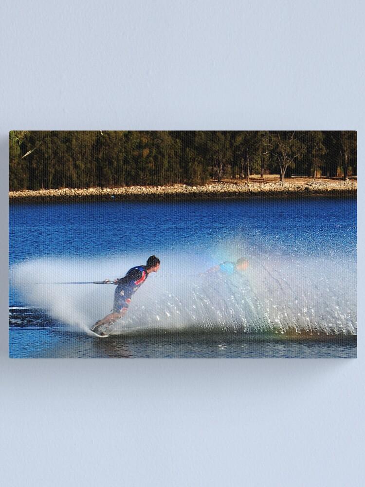 Alternate view of Water Skier Canvas Print