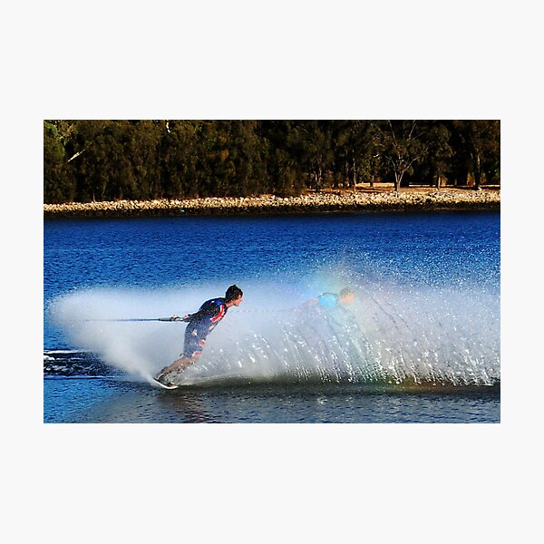 Water Skier Photographic Print