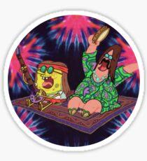 Psychedelic Sponge Sticker