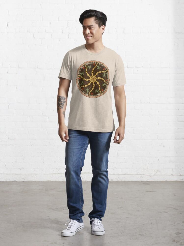 Alternate view of Disc Golfer Essential T-Shirt