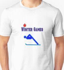 The Alpine Skier Unisex T-Shirt