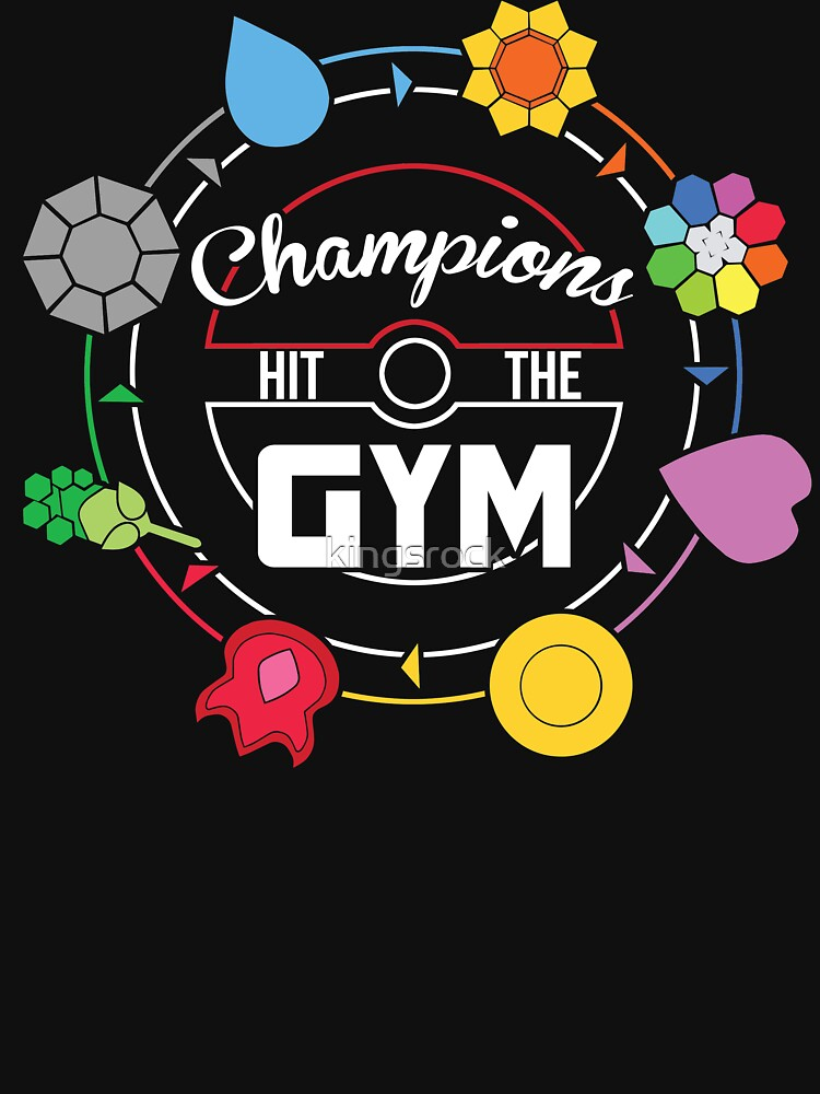 Champions Hit The Gym   Unisex Tank Top