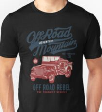 Off Road Jeep T-shirt Unisex T-Shirt