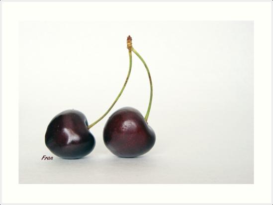 twin cherries by poupoune