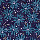 Blaue Party von annemiek groenhout