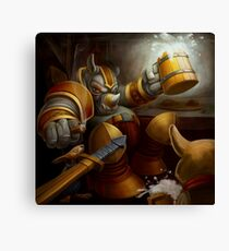 Rhinorius Wants His Beer Canvas Print