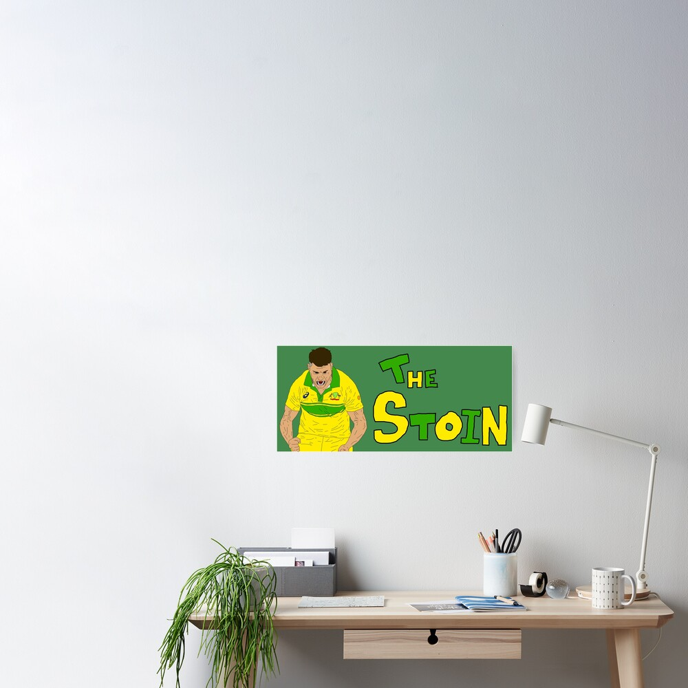 Marcus 'The Stoin' Stoinis Poster