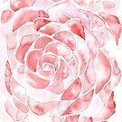 Scales of a Rose Flower by RavensLanding