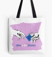 Deus Ex Durex Tote Bag