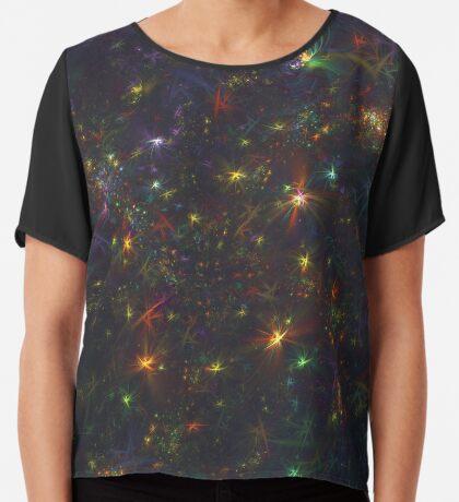 Cosmic fractals Chiffon Top