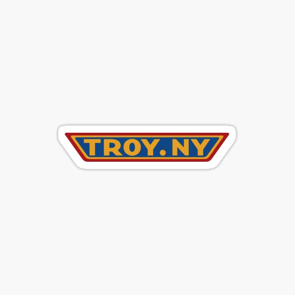 Troy Logo Sticker