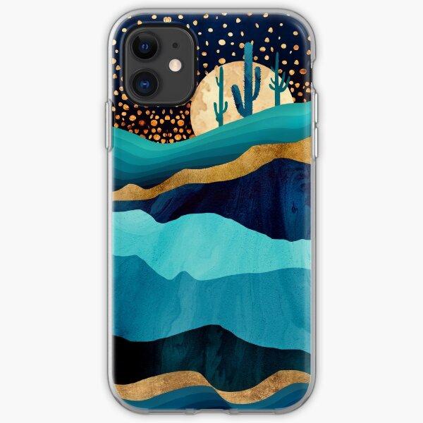 Indigo Desert Night iPhone Soft Case