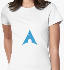 Arch Linux Mug Womens Fitted T-Shirt