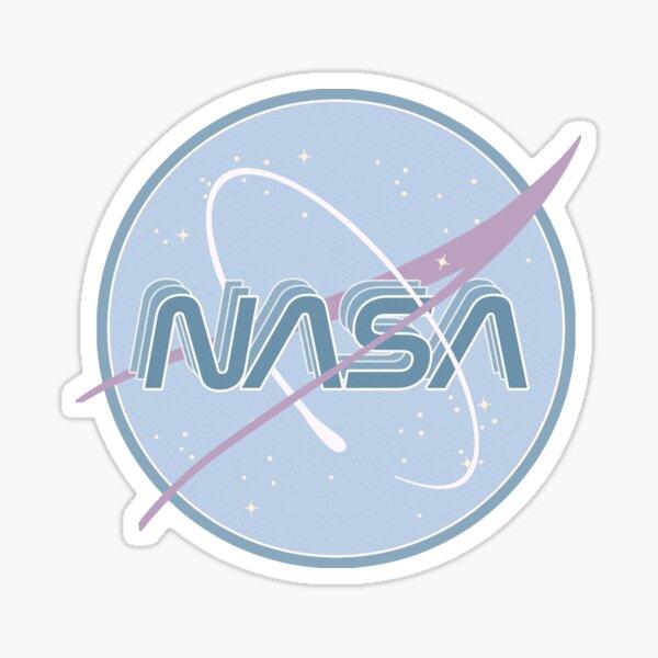 NASA PASTEL BLUE Sticker