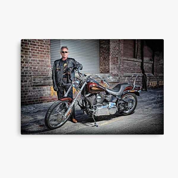 Gaz and HD! Canvas Print