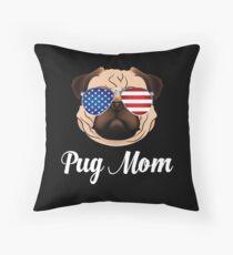 Cojín de suelo Cute Pug Mom Life Pug Cara Gafas de sol Puggy Lover Pug Dueño