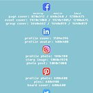 Social media cheat sheet by jadelen