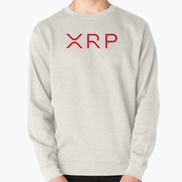 XRP logo Red Pullover Sweatshirt