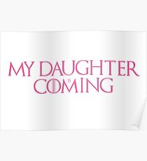 Daughter is coming Poster