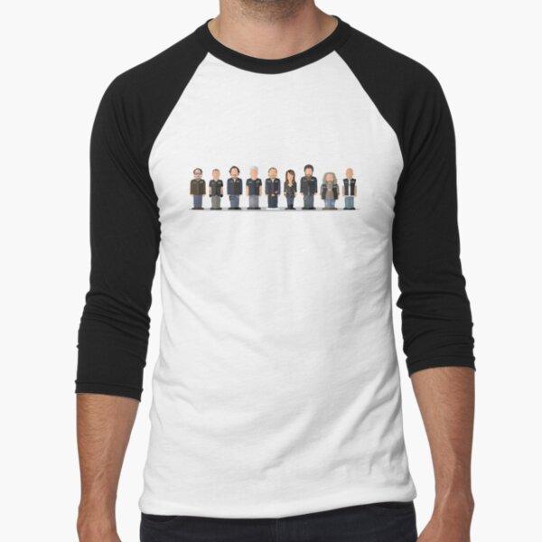 Sons of Anarchy - Featureless Portrait Baseball ¾ Sleeve T-Shirt