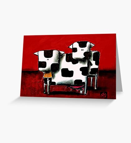 Baby Bull Production Greeting Card