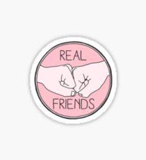 Real Friends Friendship Sticker Sticker