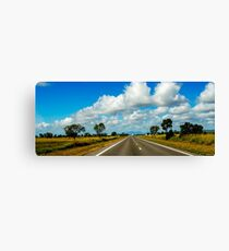 Australia road Canvas Print