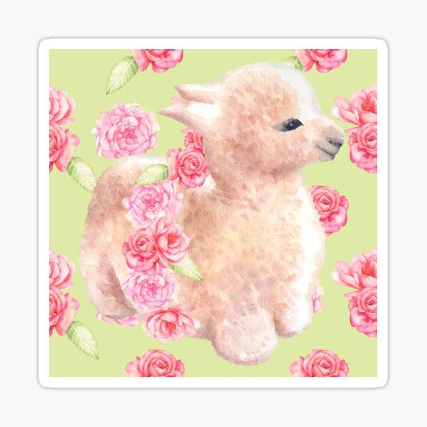 Bébé lama Sticker