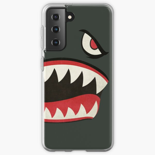 Flying Tigers Nose Art Samsung Galaxy Soft Case