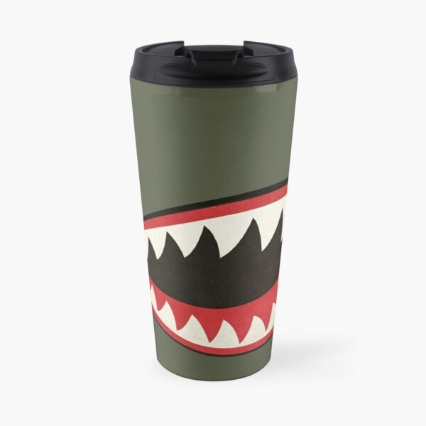 Flying Tigers Nose Art Travel Mug