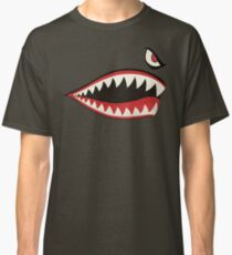 Flying Tigers Nose Art Classic T-Shirt