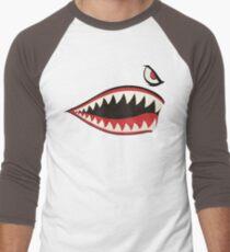 Flying Tigers Nose Art Men's Baseball ¾ T-Shirt