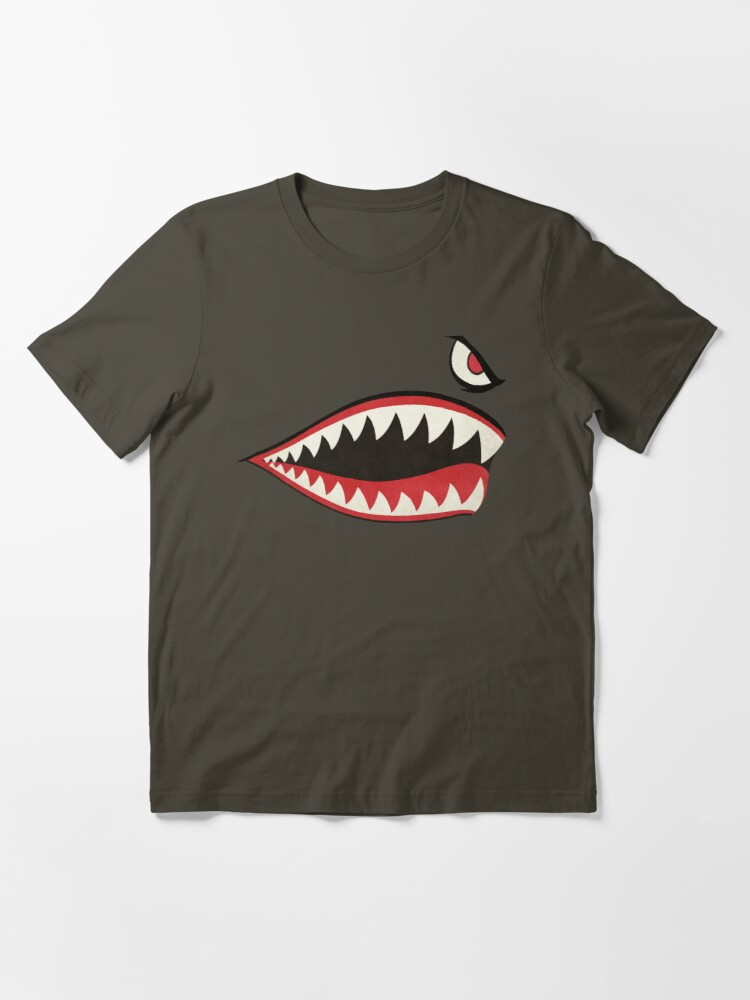 Alternate view of Flying Tigers Nose Art Essential T-Shirt