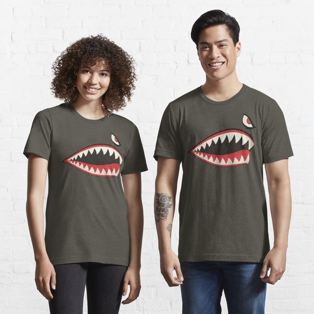 Flying Tigers Nose Art Essential T-Shirt